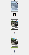 In the pages tab after data merging a single record in indesign cs6